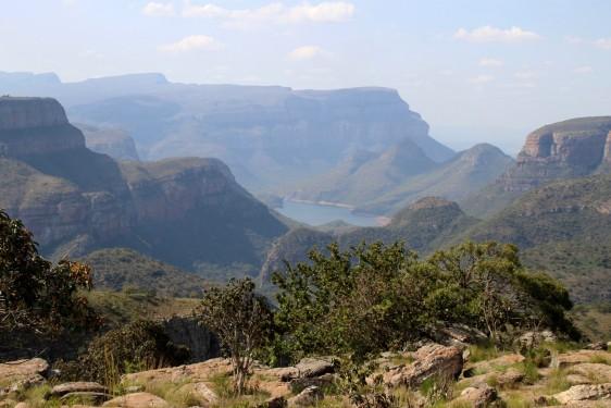 Au Nord, dans la région du Blyde River Canyon