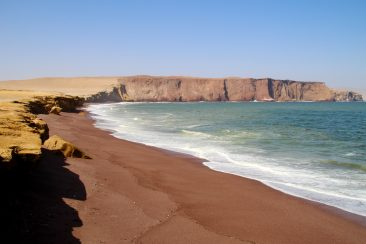 Réserve Nationale de Paracas - Playa Roja