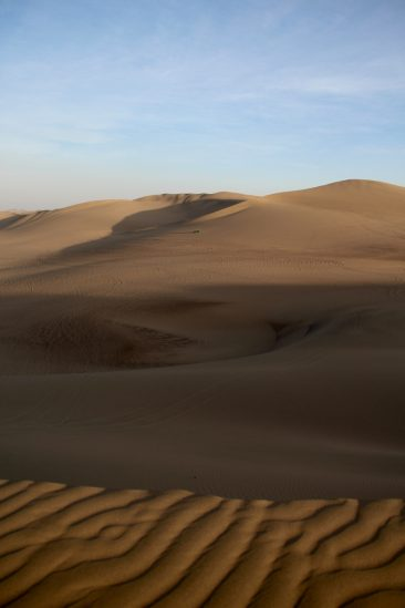 Le désert - Un mini Sahara