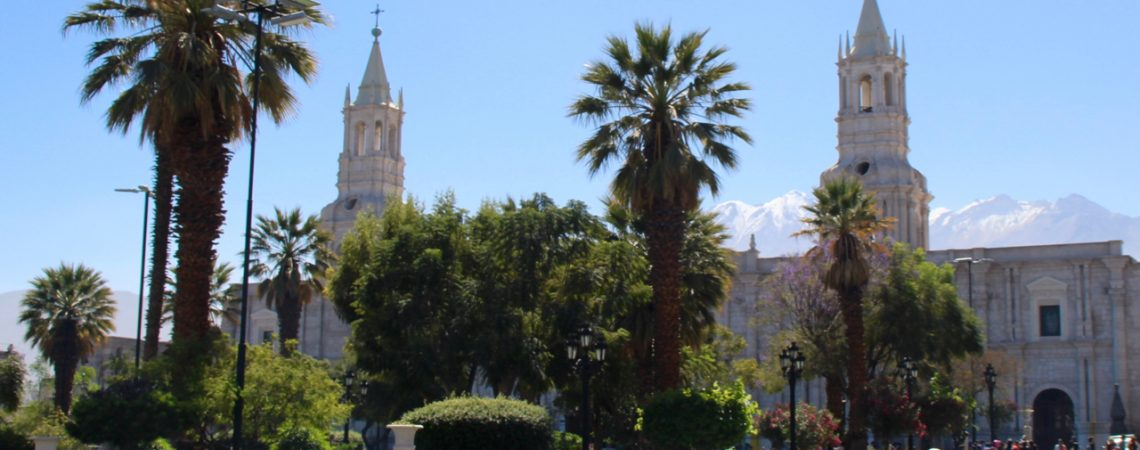 Arequipa et sa Plaza de Armas