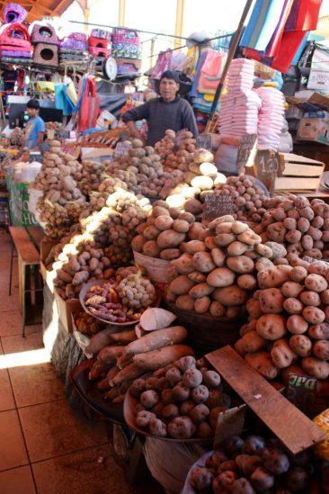 Le marché - Le pays de la pomme de terre