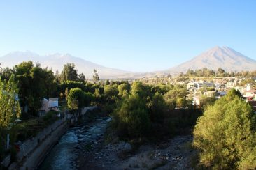 Arequipa et ses volcans