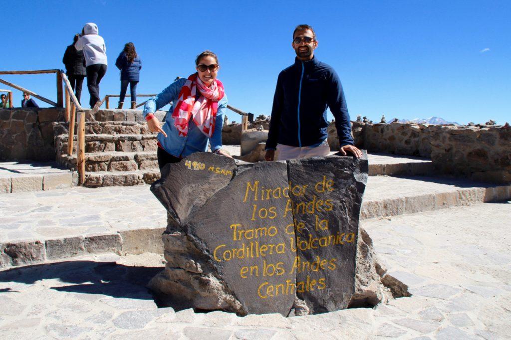 Col de Patapampa 4910m d'altitude