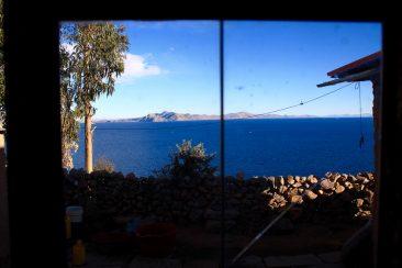L'ile d'Amantani - Chambre avec vue